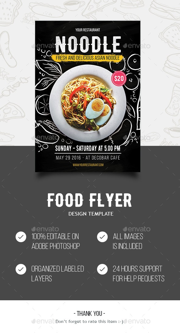 Food Flyer - Restaurant Flyers