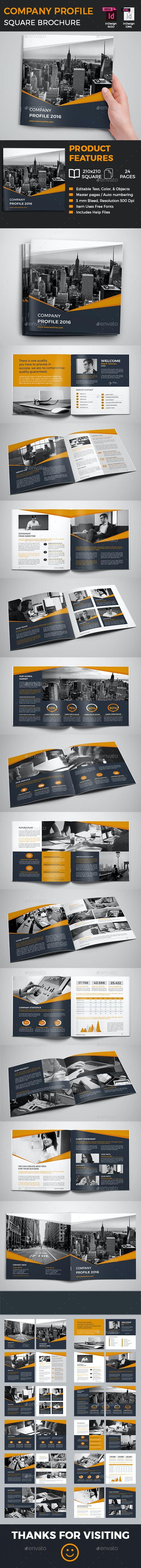 The Company Profile Brochure - Corporate Brochures