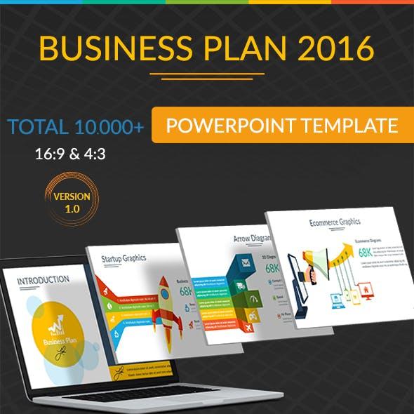 Business Plan 2016 Powerpoint Template