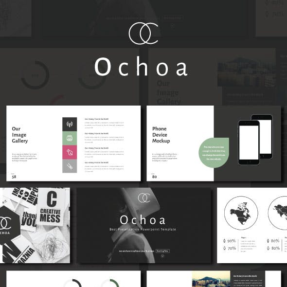Ochoa Minimal Presentation Template