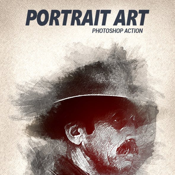 PortraitArt - Photoshop Action