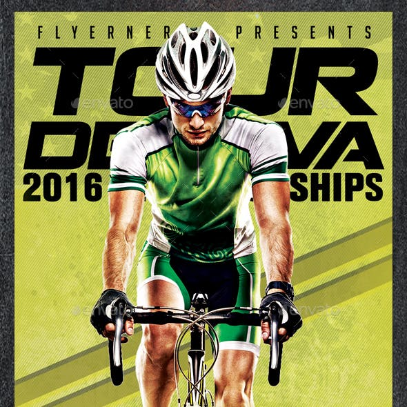 Tour De Java Sports Flyer