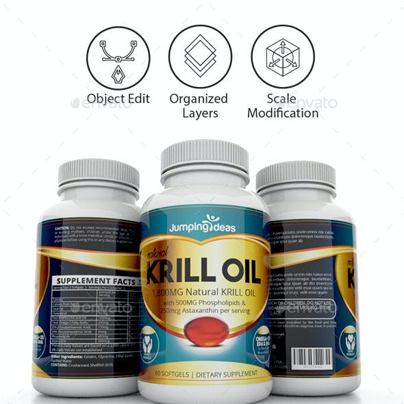 Supplement Label Template Vol-10