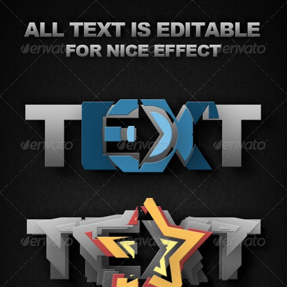 Smart-Object Text