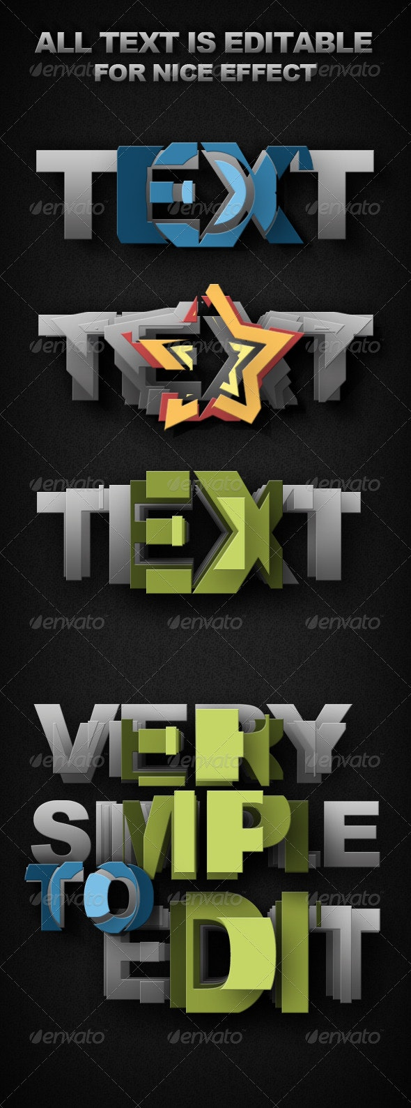 Smart-Object Text - Miscellaneous Graphics