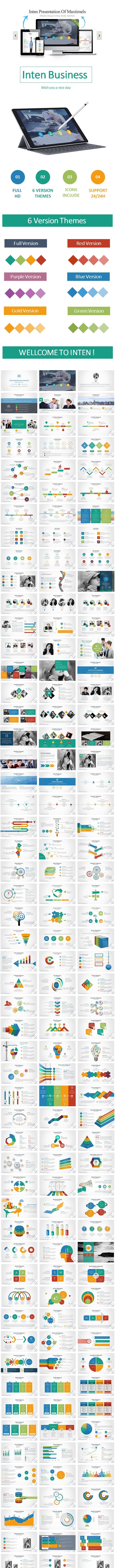 Inten GoogleSlide Templates - Google Slides Presentation Templates