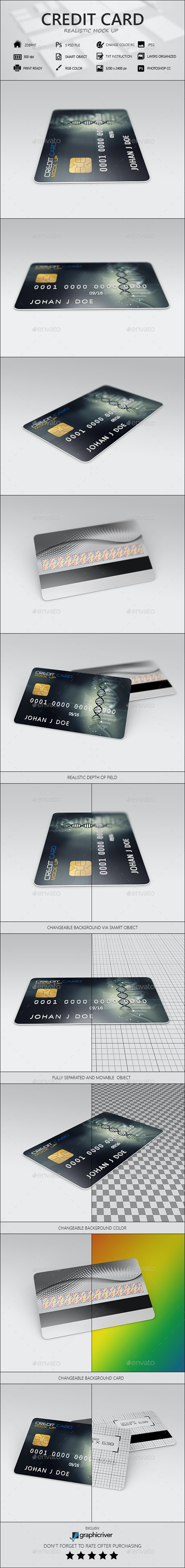Credit Card - Miscellaneous Print