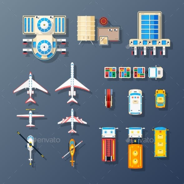 Airport Transport and Facilities Elements