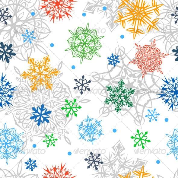 Christmass Seamless Background - Patterns Decorative