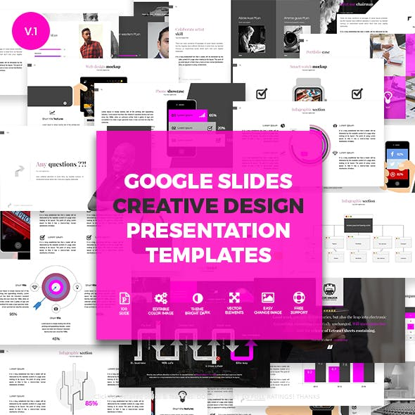 Creative Slides - Google Slides Presentation Templates