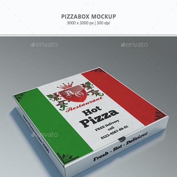 Pizzabox Mock-up