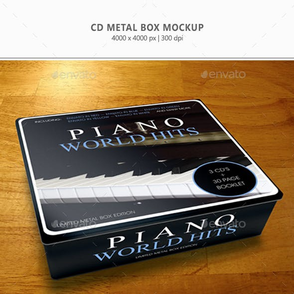 CD Metal-Box Mock-up