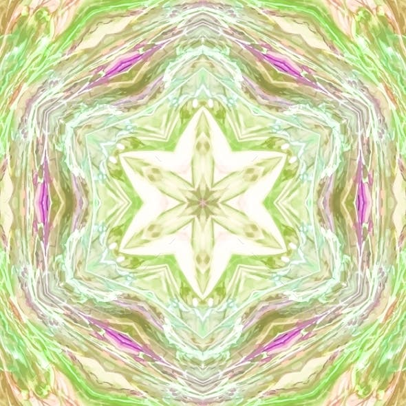 Abstract Kaleidoscopic Pattern.
