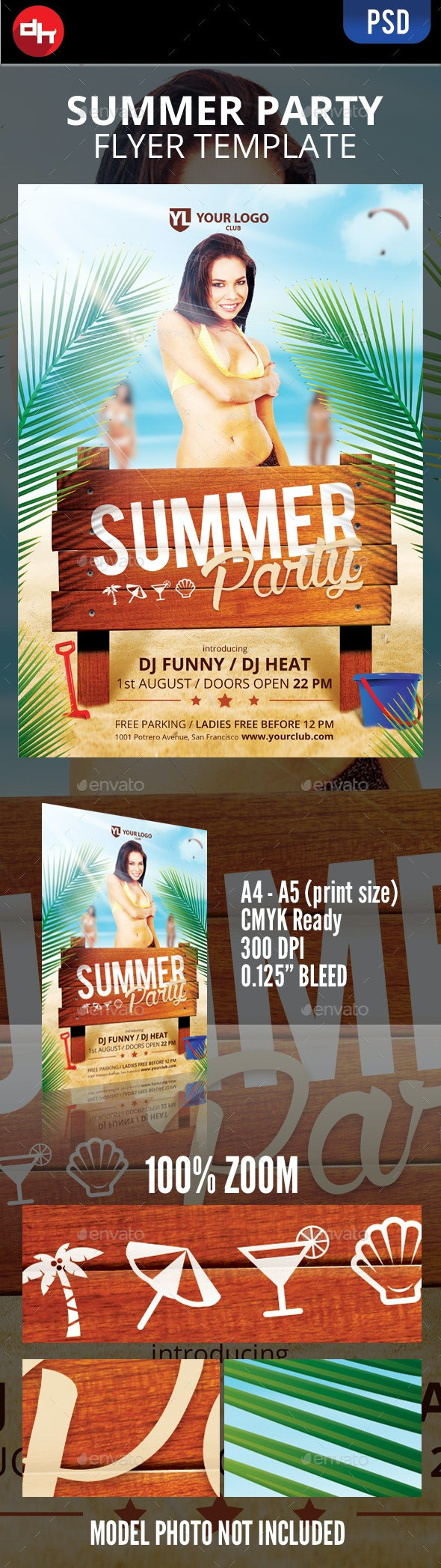 Summer Party - Clubs & Parties Events