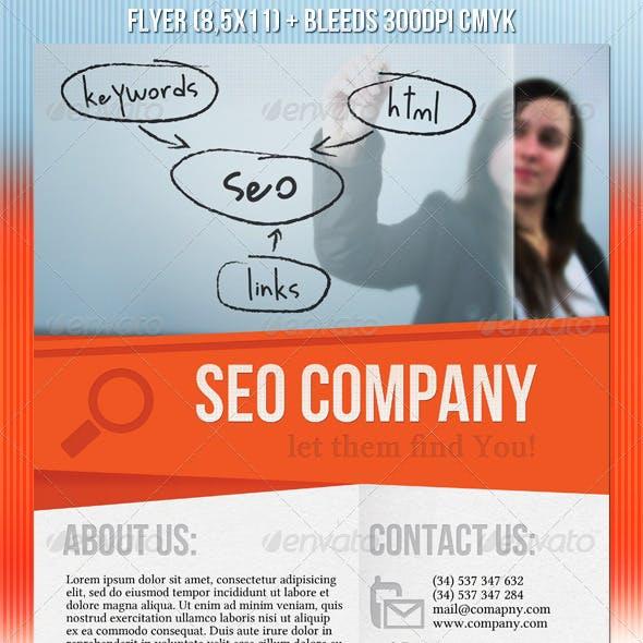 SEO Company Flyer