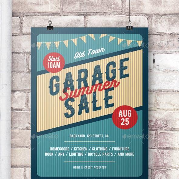 Garage Sale Flyer/Poster
