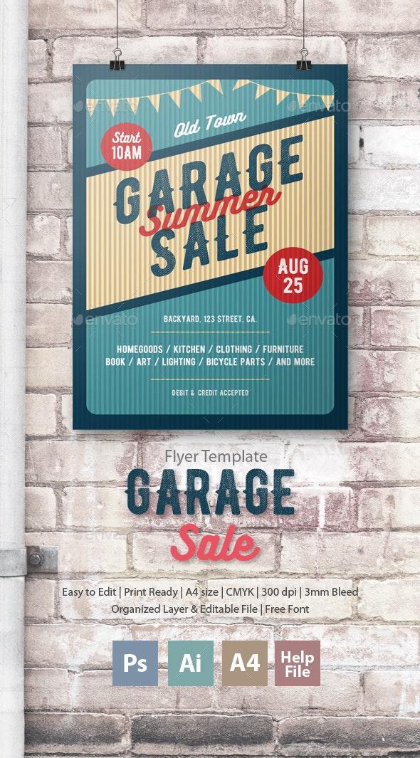 Garage Sale Flyer/Poster - Commerce Flyers