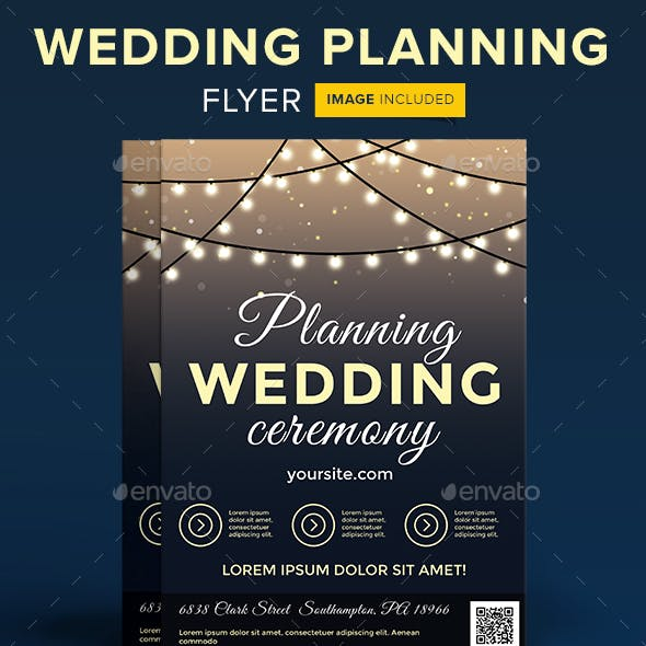 Wedding Planning Ceremony Flyer