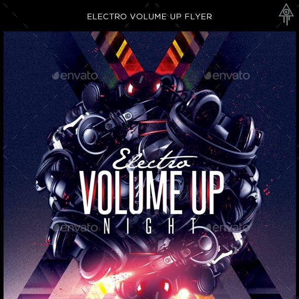 Electro Volume Up Night Flyer