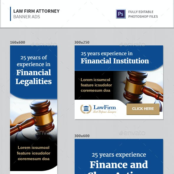 Law Firm Attorney Banners
