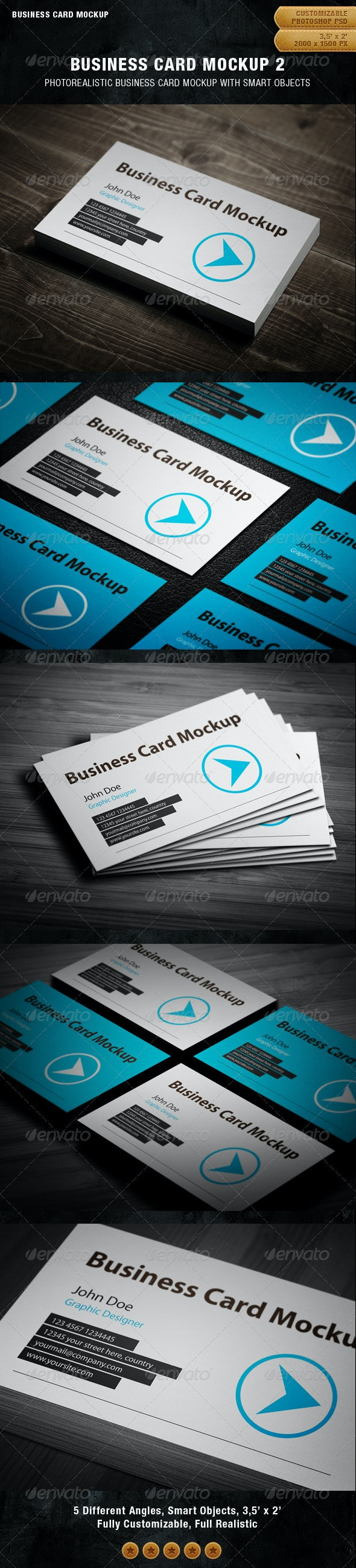Business Card Mockup 2 - Business Cards Print