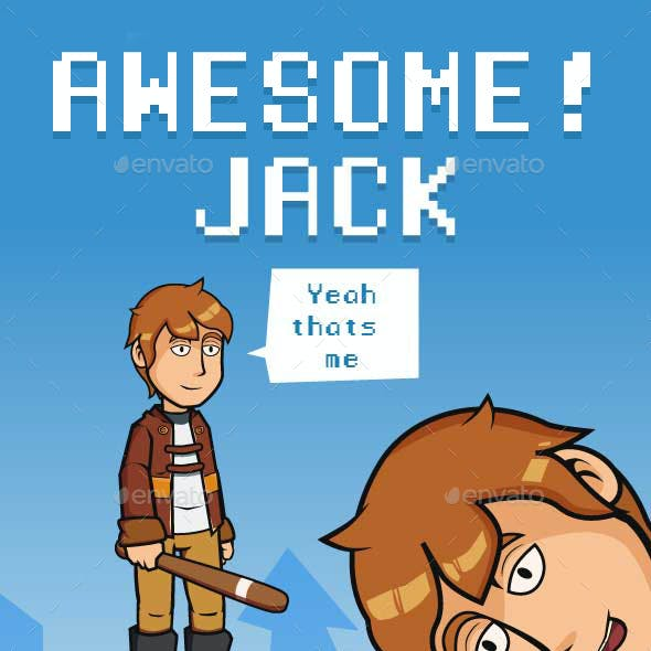 Jack Sprite Character