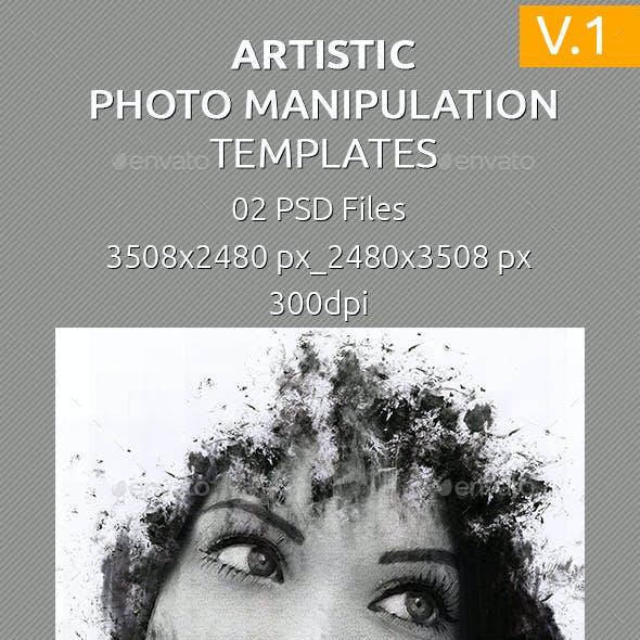 Artistic Photo Manipulation Templates