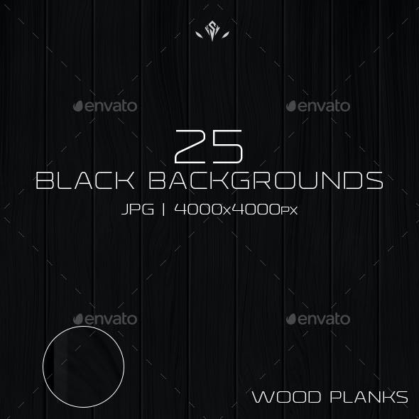 25 Black Backgrounds