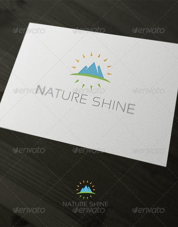 Nature Shine - Nature Logo Templates