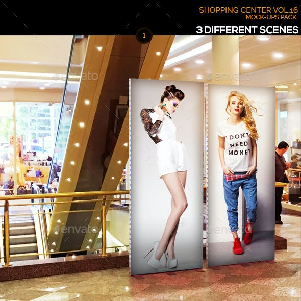 Shopping Center Vol.16 Mock Ups Pack