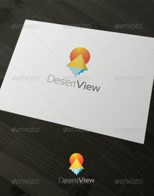 Desert View - Buildings Logo Templates