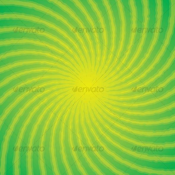 Green Swirl Background - Backgrounds Decorative