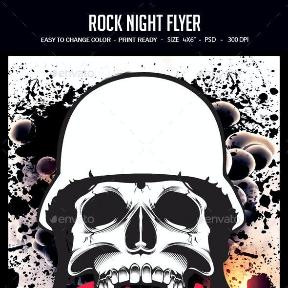 Rock Night Flyer