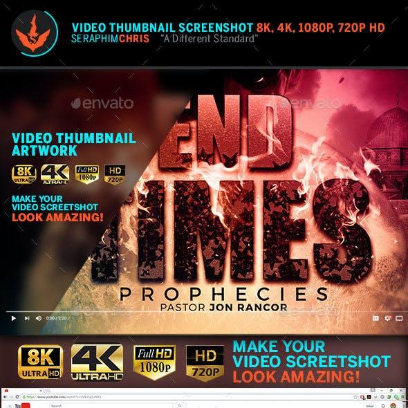 End Time Prophecies YouTube Thumbnail Screenshot Template