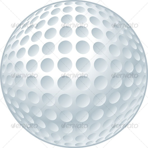 Golf Ball - Objects Vectors