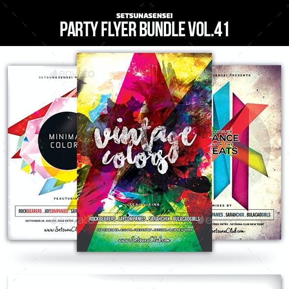 Party Flyer Bundle Vol.41