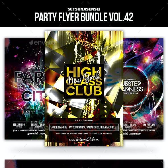 Party Flyer Bundle Vol.42