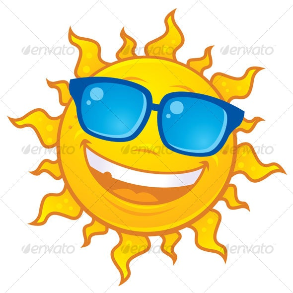 Summer Sun Wearing Sunglasses - Miscellaneous Characters