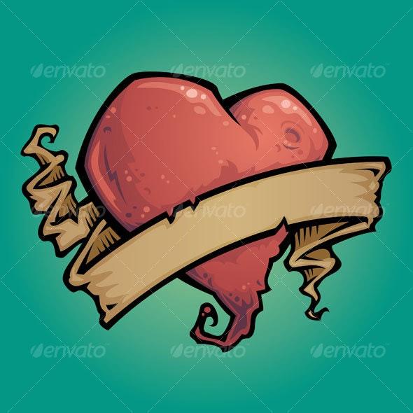 Tattoo Heart - Tattoos Vectors