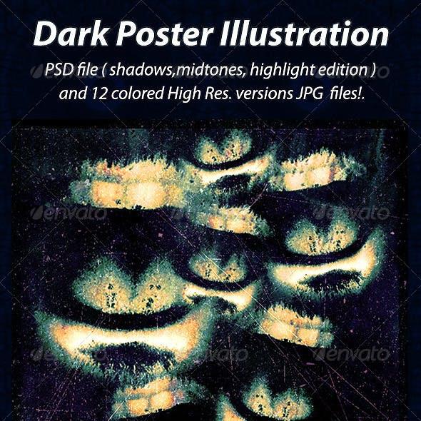 Dark Poster Illustration