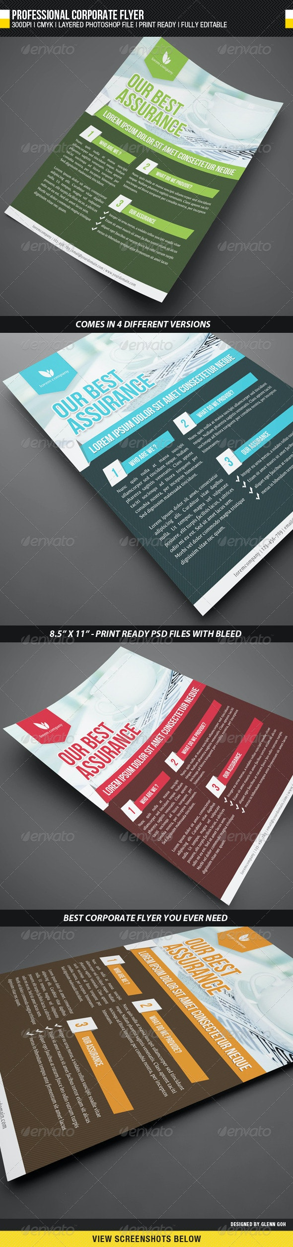 Professional Corporate Flyer - Corporate Flyers