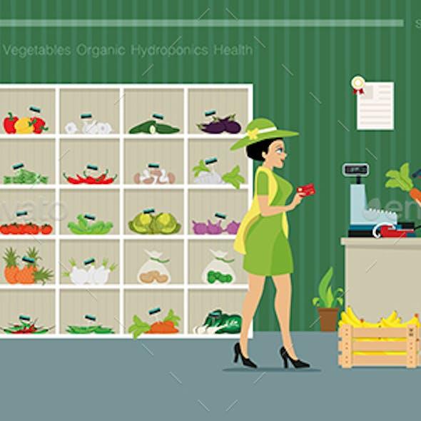 Sell Organic Vegetable