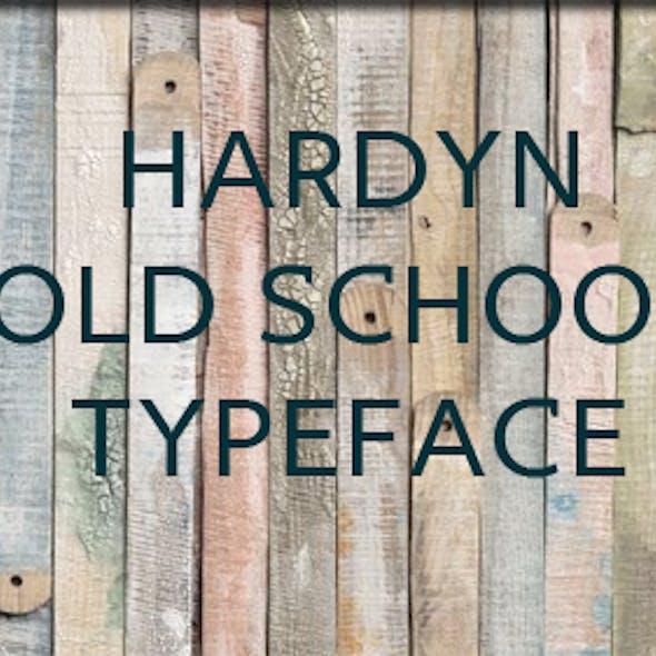 Hardyn typeface