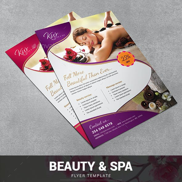 Spa Flyer / Beauty Flyer
