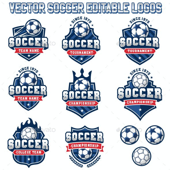 Soccer and Football Logos 2