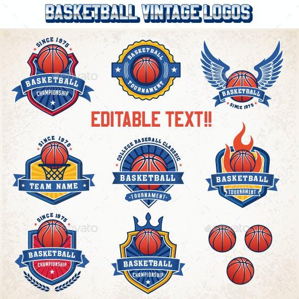 Basketball Logo Templates