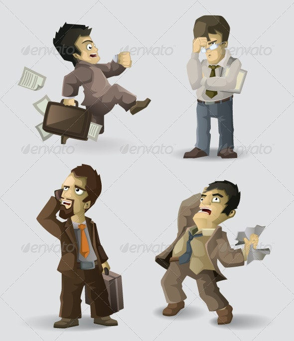 Office Workers - Characters Vectors