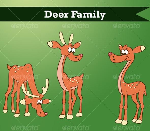 Vector Deer - Characters Vectors