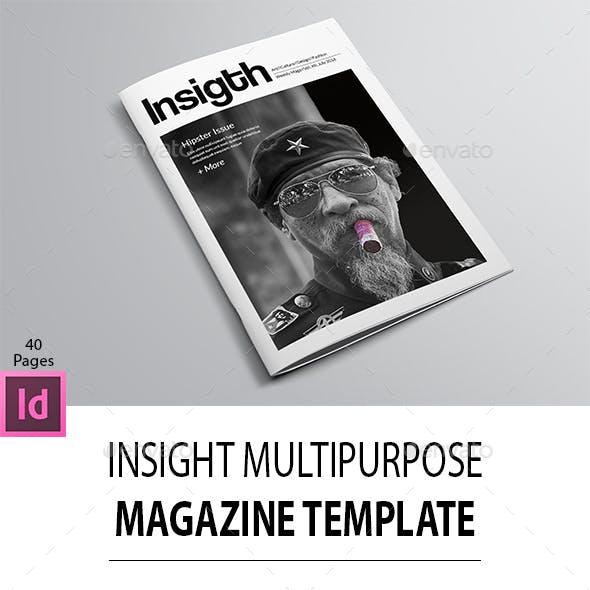 Insight Multipurpose Magazine Template