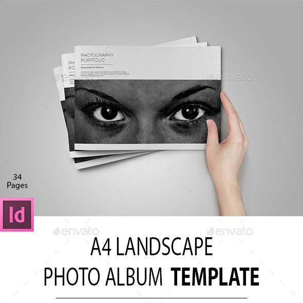 A4 Landscape Photo Portfolio